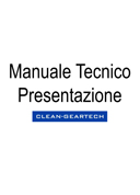 Technical manual - Presentation (IT)