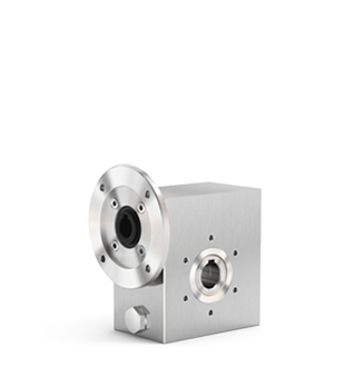 Full stainless steel worm gearboxes