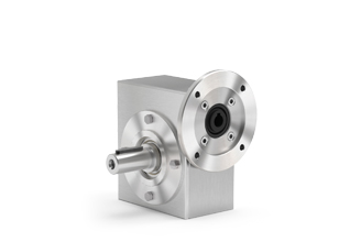 Output shaft is produced in AISI 316L.