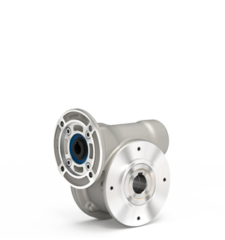 Aluminum worm gearboxes