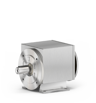 Stainless steel shielded coaxial gearboxes